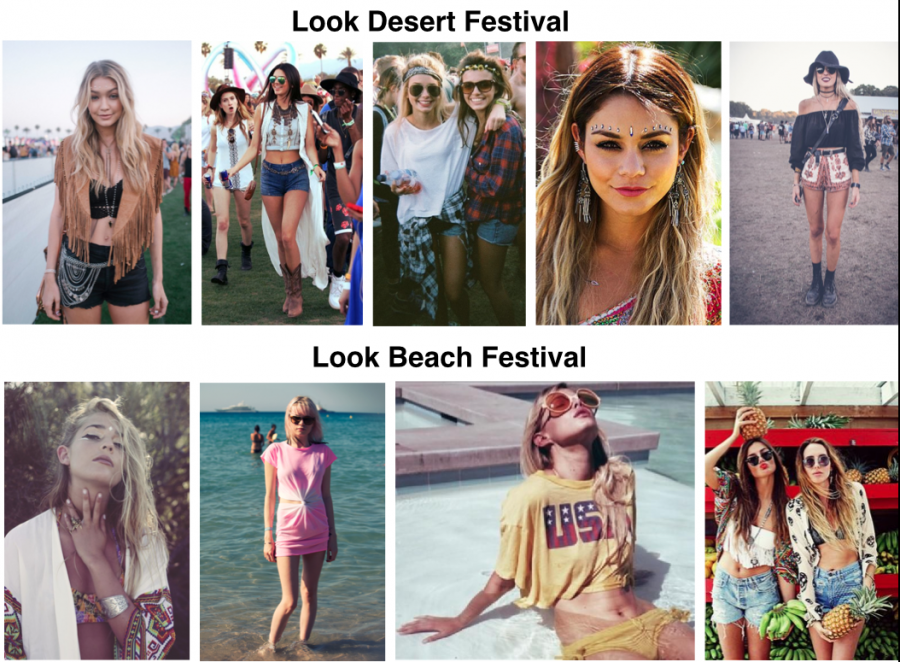 Panneau de tendances Look spécial festival
