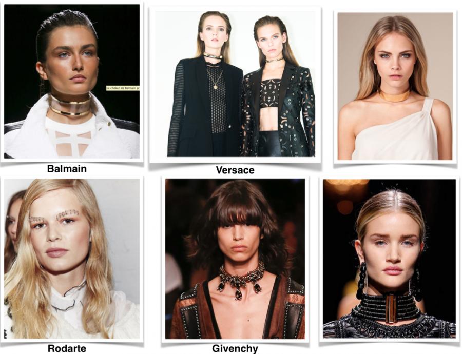 Panneau de tendances - Défile Haute Couture 2015