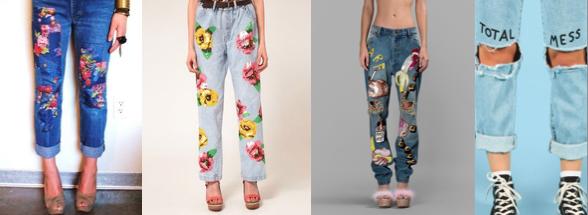 Jeans customised