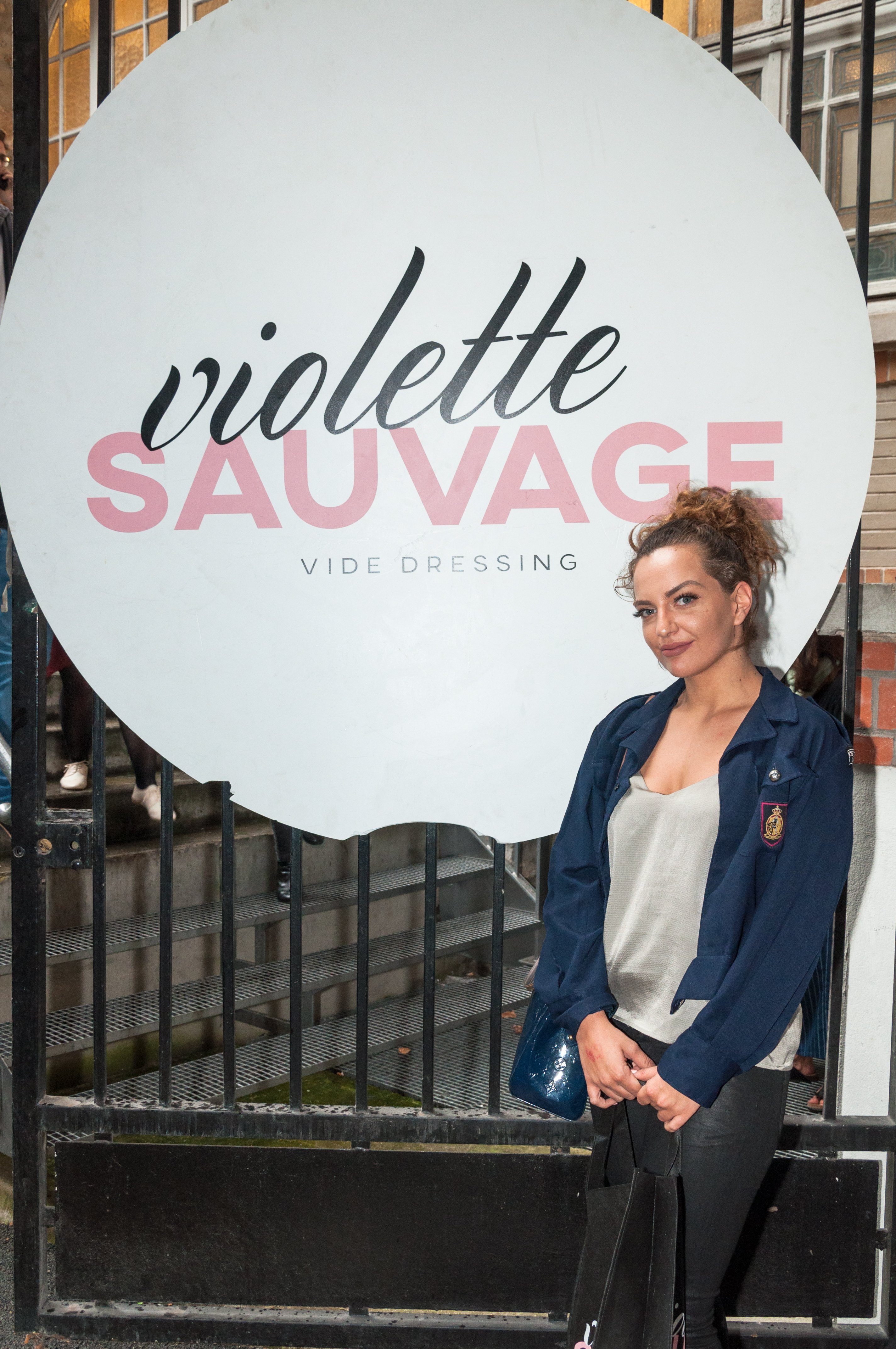 Violette Sauvage vide dressing photocall