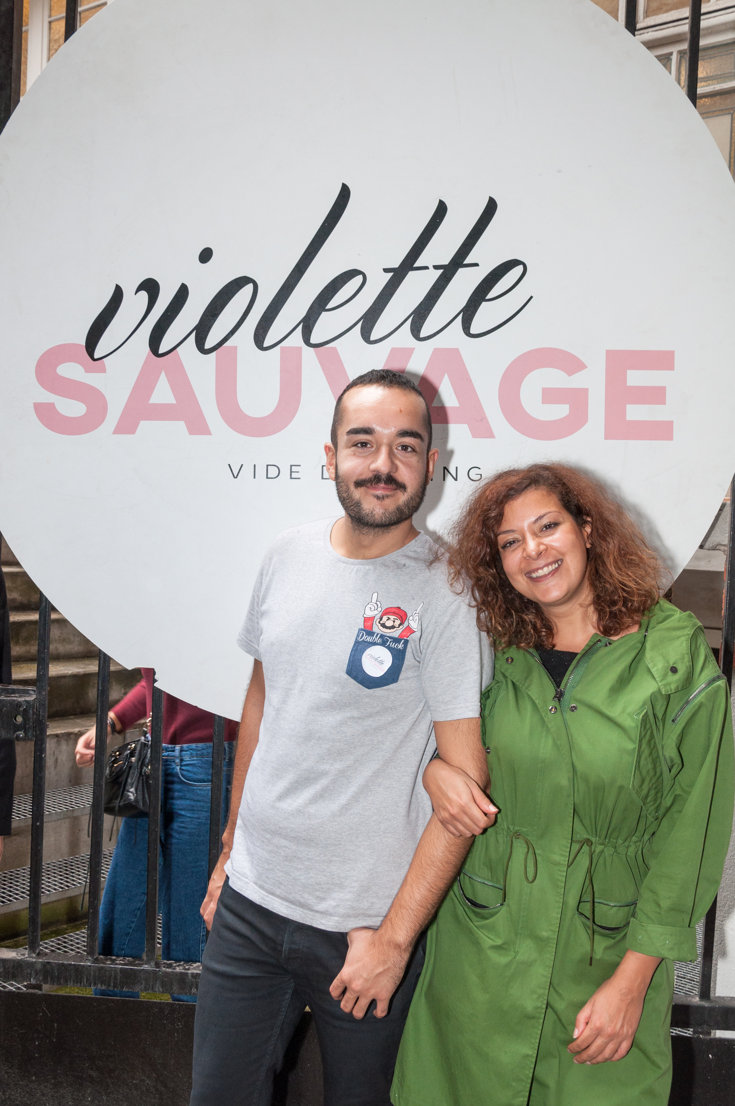 Violette Sauvage Photocall