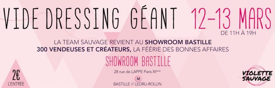 Showroom bastille Violette Sauvage