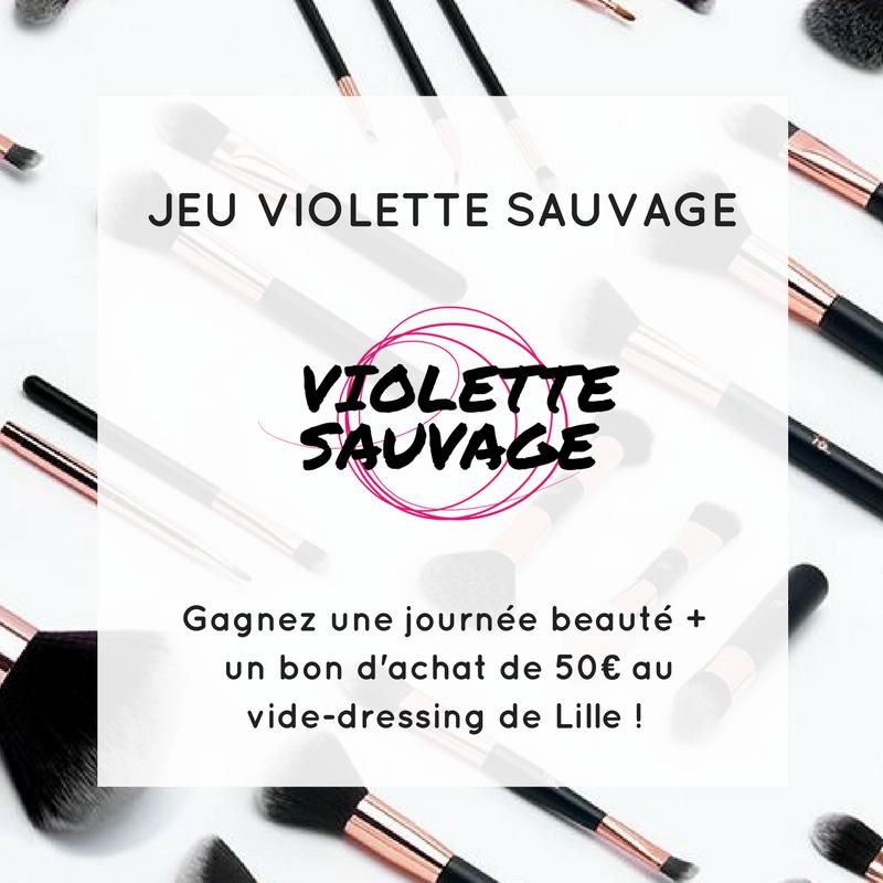 Une journée Beauté Violette Sauvage à gagner !