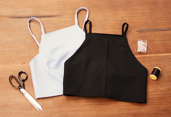 DIY CROP TOP VIOLETTE SAUVAGE