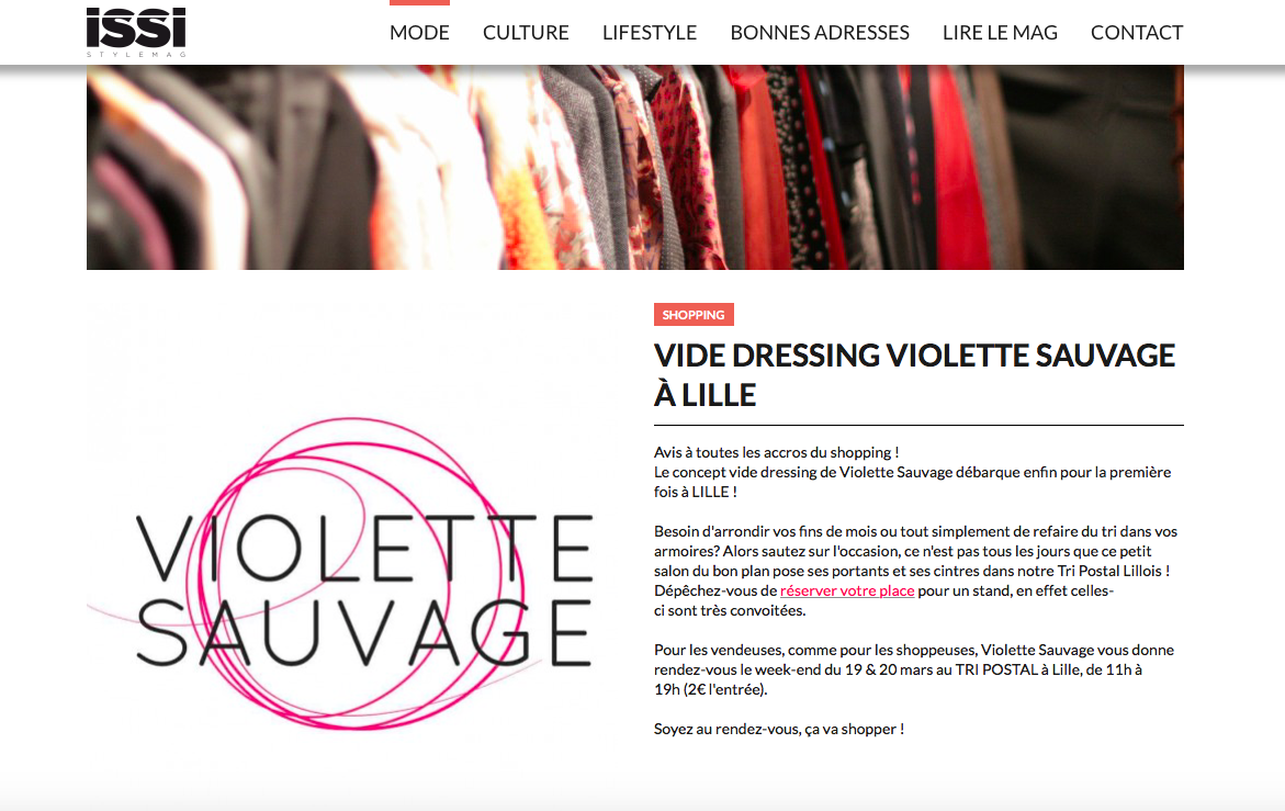 ISSI STYLEMAG - Lille