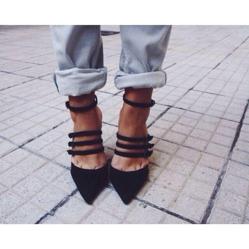 chaussures violette sauvage tendance