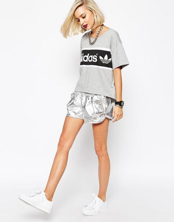tenue sportwear adidas violette sauvage
