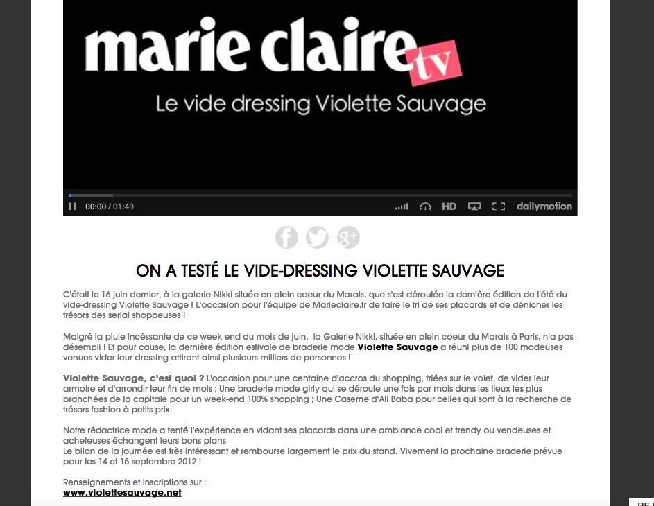 marie-claire - galerie Nikki (2012)