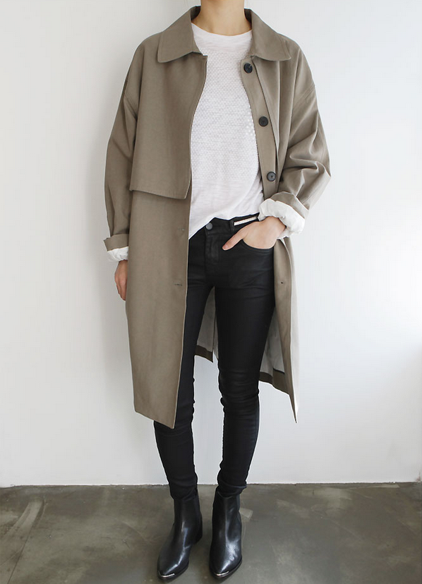 trench violette sauvage
