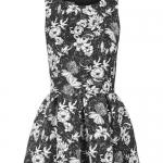 robe fleurie topshop