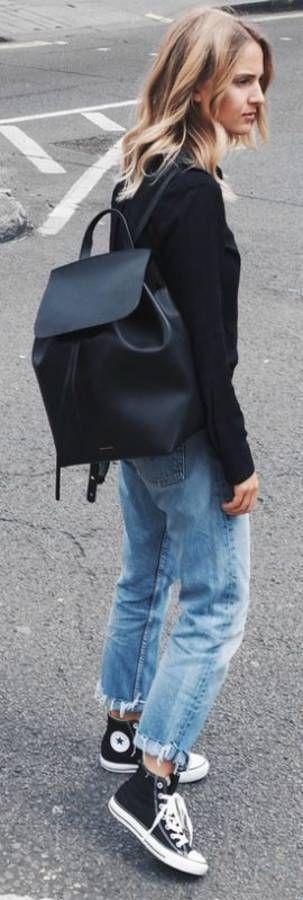 backpack look
