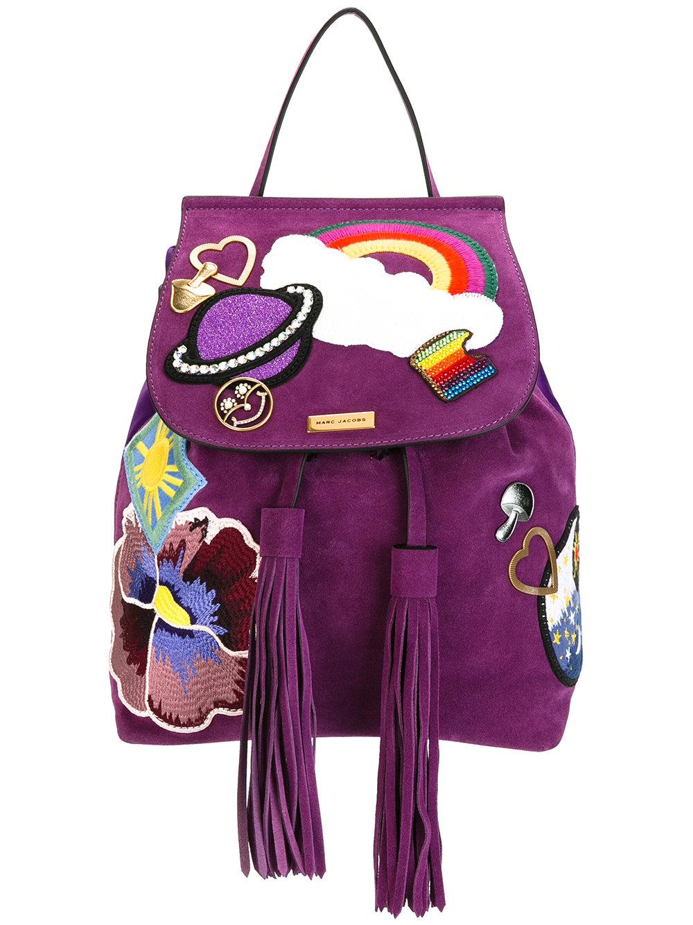 sac à dos violet marc jacobs