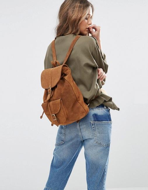 sac à dos marron