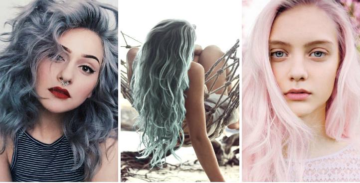 couleurs cheveux pastel