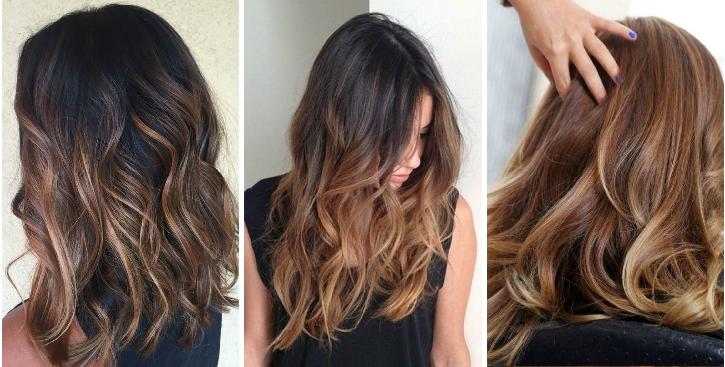 couleur cheveux ombré