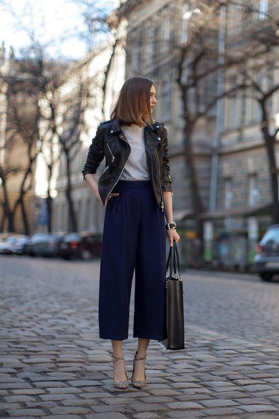 comment porter la jupe culotte