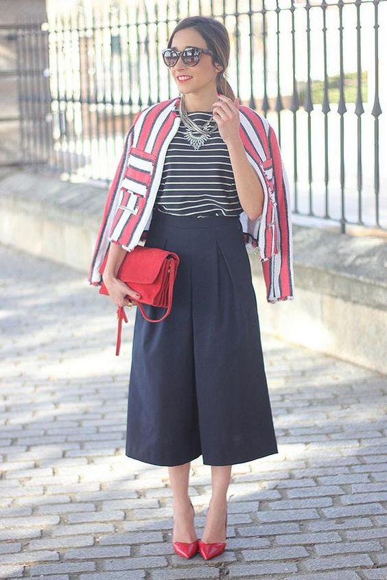 jupe culotte tendance