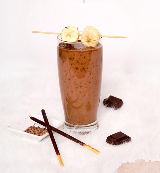 recette smoothie chocolat