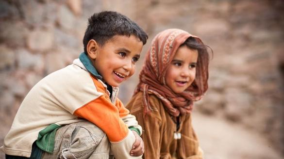 sourire d'enfants