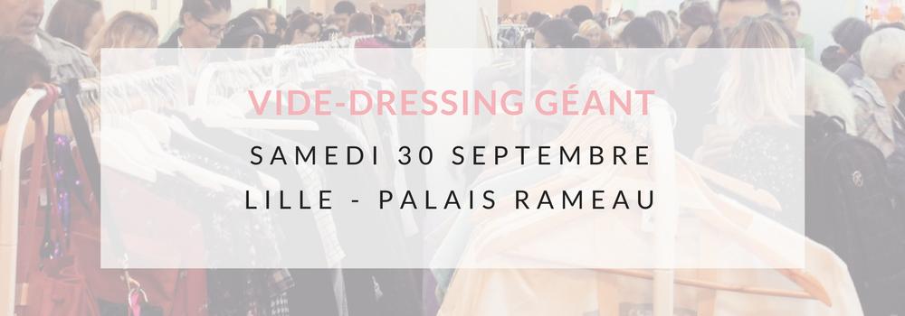 Violette Sauvage vide dressing géant au Palais Rameau