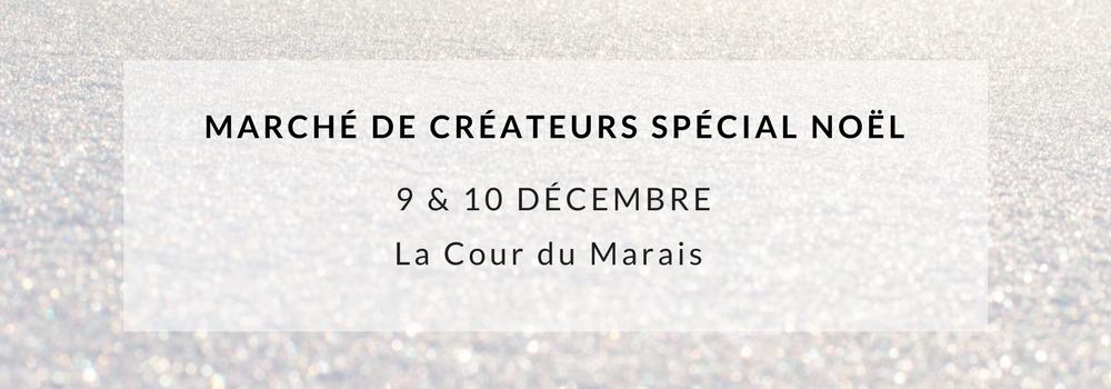 Marché de créateurs spécial Noël 9&10 Décembre 2017