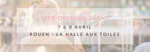 Violette Sauvage vide dressing - la halle aux toiles à Rouen