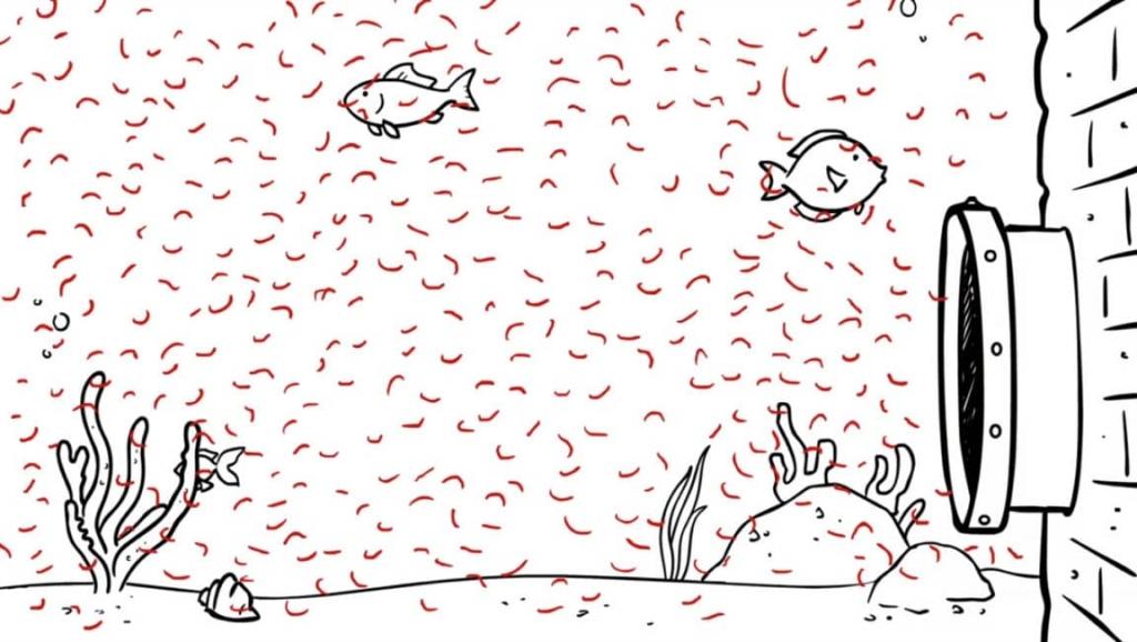 pollution océans microfibres