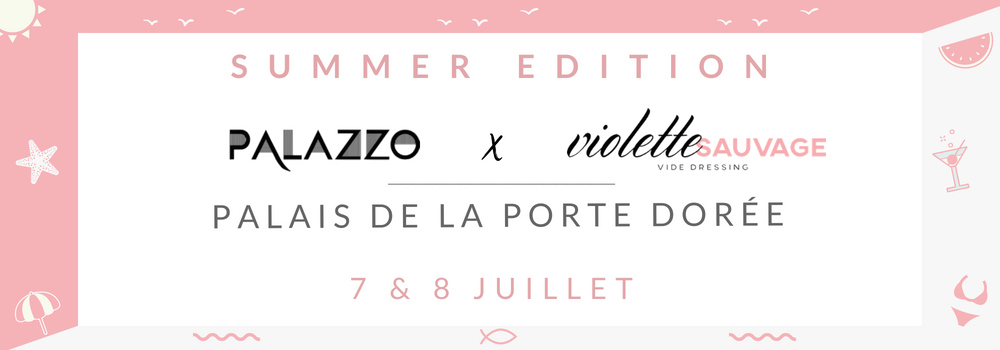 palazzo x violette sauvage summer edition vide dressing