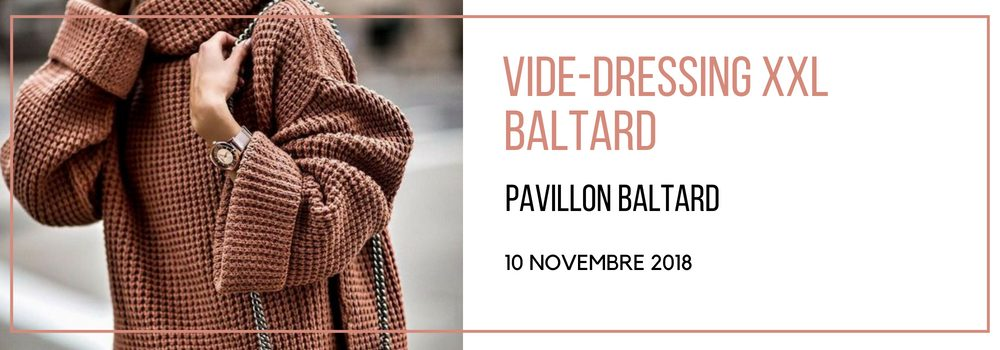 vide dressing violette sauvage Pavillon Baltard