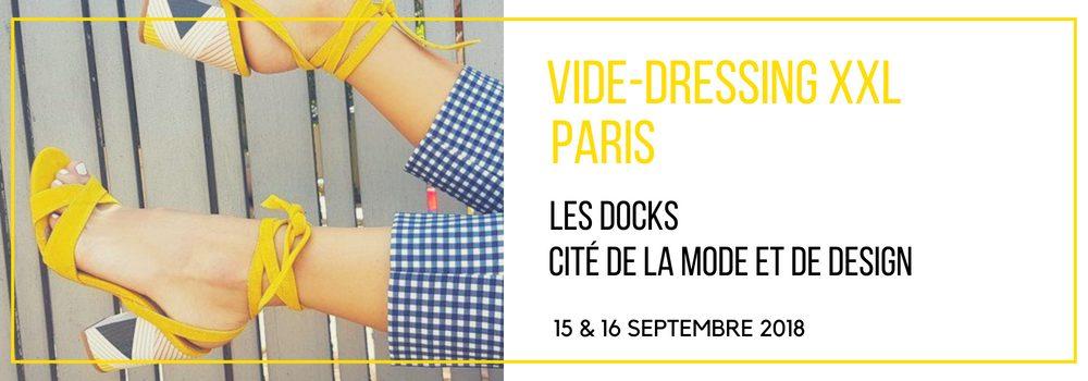 Cité de la mode Violette Sauvage vide dressing
